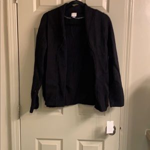 NWT black cardigan
